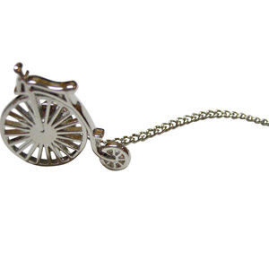 Penny Farthing Retro Bicycle Tie Tack